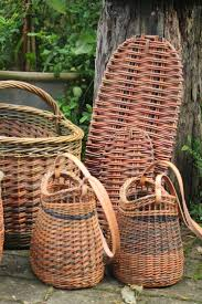 302 best new u0026 vintage wicker baskets images on pinterest wicker