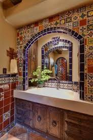Mexican Tile Bathroom Designs 30 Best Mexican Tile U0026 Mexican Flooring Images On Pinterest