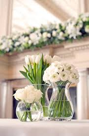 white flower centerpieces decorating beautiful white flower centerpieces for summer 20