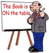 The Book Is On The Table Knight U0027s English It Is A Question Of Style