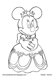 printable mickey minnie mouse coloring pages baby heart