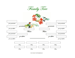 6 best images of generation family tree template printable 6