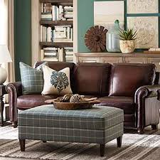 Living Room With Leather Sofa Fancy Plush Design Living Room Leather Sofa Charming Decoration