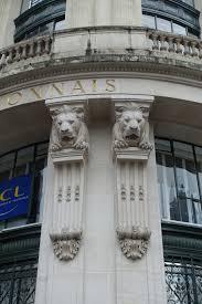 siege du credit lyonnais file lions sur la rotonde du siège du crédit lyonnais jpg