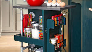 make a kitchen storage cart