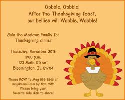 8 thanksgiving invitation templates resumes word