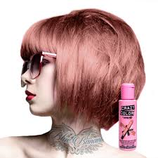What Does Semi Permanent Hair Color Mean Crazy Color Semi Permanent Hair Dye Cream By Renbow 100ml Bottle