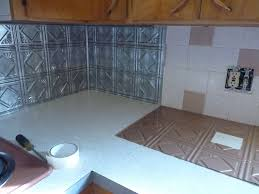 kitchen panels backsplash kitchen homeroad tin ceiling backsplash fasade kitchen panels img