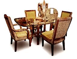 695 capris rattan ranch dining room set capris furniture dining