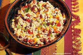 southwest couscous salad meatless monday the saucy southerner
