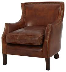 tiller club chair brown traditional armchairs and accent