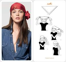 how to tie a scarf for your gypsy costume diy pinterest