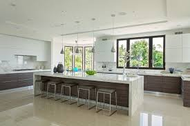 Splashy Thermofoil Mode Los Angeles Contemporary Kitchen - Kitchen cabinets los angeles