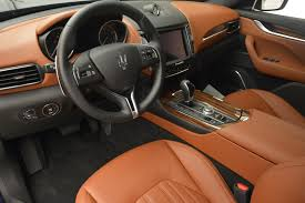 maserati levante interior back seat 2017 maserati levante s stock m1657 for sale near greenwich ct