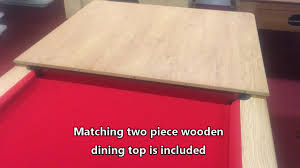 Pool Dining Table by Roma Pool Dining Table Youtube