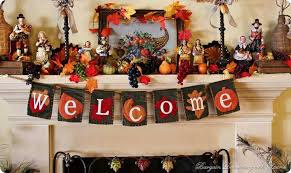 brilliant mantel decoration ideas for thanksgiving