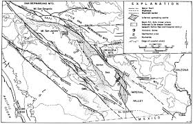 California Fault Map Geology Of San Diego Bay And Region