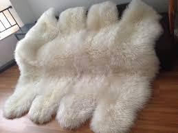 Lambskin Rugs Aliexpress Com Buy Nature White New Zealand Lambskin Rug Genuine