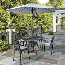 Outdoor Patio Dining Sets With Umbrella - metal patio furniture umbrella patio dining furniture patio