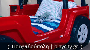 jeep bed little tikes παιδικό κρεβάτι wrangler little tikes youtube