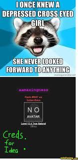 Meme Generator Raccoon - memes lame pun coon image memes at relatably com