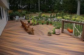 home design backyard wood deck designs building designers