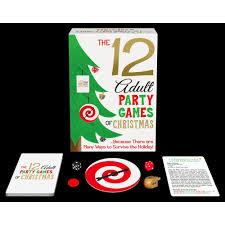 12 party games of christmas 825156108680 calendars com