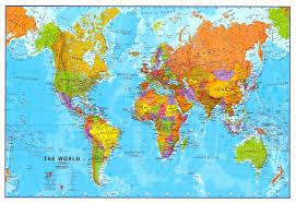 Sattelite World Map by Australia Map And Satellite Image In Where Is On The World Where