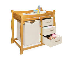 interior dream on me changing table mahogany changing table