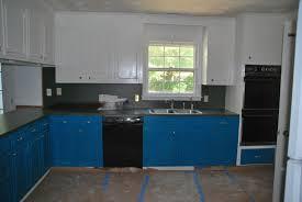 Best Colour For Kitchen Cabinets Blue Kitchen Cabinets Blue Cabinets Via Simply Grove Grey Homes