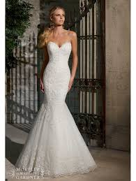 sweetheart neckline wedding dress mori 2713 sweetheart neckline allover lace mermaid gown ivory
