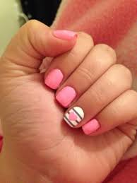 best 25 short pink nails ideas on pinterest lace nail art pink