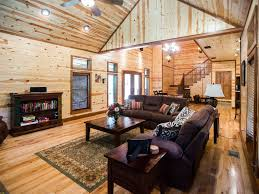 Open Floor Plan With Loft by Treasured Times Luxury Cabin Open Floor Pl Vrbo