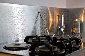 revetement mural cuisine inox revetement mural cuisine inox beautiful plan de travail en inox