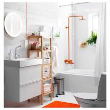 ikea bathroom storjorm mirror with built in light ikea