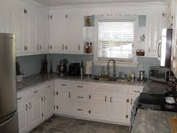 granite countertop remodeled kitchens with white cabinets