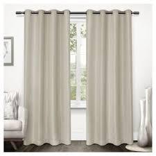 natural linen curtain panels target