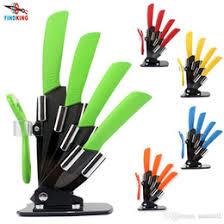 kitchen knife set acrylic black holder online kitchen knife set