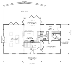farmhouse plan my dream house has an open concept living dining