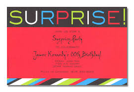 party invitations very best sample surprise party invitation