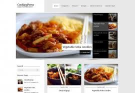 site de recette de cuisine 10 templates recettes de cuisine