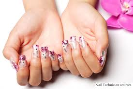 nails tech beautify themselves with sweet nails