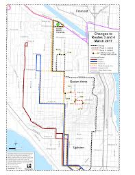 Seattle Bus Routes Map by Metro To Extend Routes 3 And 4 To Serve Seattle Pacific University