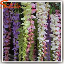 wholesale artificial flowers factory direct artificial silicone flowers wisteria cheap