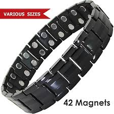 bracelet magnetic wristband images Mens titanium magnetic therapy bracelet all sizes magnetic jpg