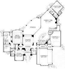 Angled Garage House Plans by House Plans With Angled 3 Bay Garage House Free House Plans Image