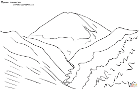 balto coloring pages elbrus moonlight by arkhip ivanovich kuindzhi coloring page free