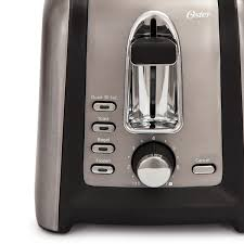 Stainless Toaster 2 Slice Oster Black Stainless Collection 2 Slice Toaster Stainless Steel