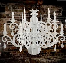 How To Make A Fake Chandelier Large Silhouette Chandelier Decoration The Grandelier 3 Steps