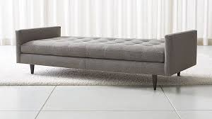 Mid Century Daybed Petrie Midcentury Daybed In Chaises Reviews Crate And Barrel